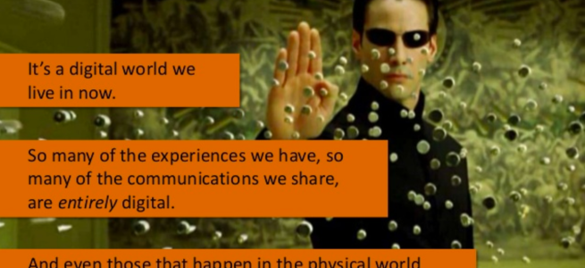 Marketing Technologist as Neo from Matrix